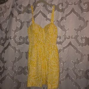 Yellow Lilly Pulitzer Sundress